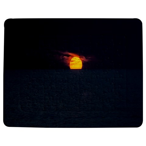 Sunset Ocean Azores Portugal Sol Jigsaw Puzzle Photo Stand (Rectangular)