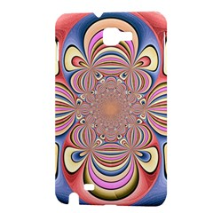 Pastel Shades Ornamental Flower Samsung Galaxy Note 1 Hardshell Case