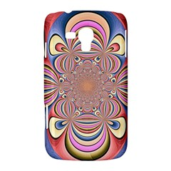 Pastel Shades Ornamental Flower Samsung Galaxy Duos I8262 Hardshell Case