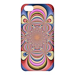 Pastel Shades Ornamental Flower Apple Iphone 5c Hardshell Case