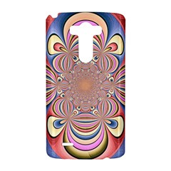 Pastel Shades Ornamental Flower LG G3 Hardshell Case