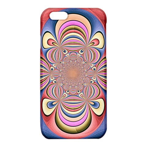 Pastel Shades Ornamental Flower iPhone 6/6S TPU Case