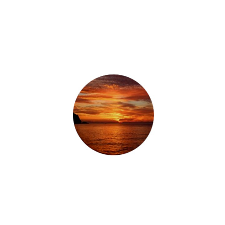Sunset Sea Afterglow Boot 1  Mini Buttons