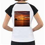 Sunset Sea Afterglow Boot Women s Cap Sleeve T Back