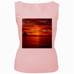 Sunset Sea Afterglow Boot Women s Pink Tank Top