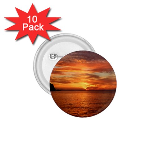 Sunset Sea Afterglow Boot 1.75  Buttons (10 pack)