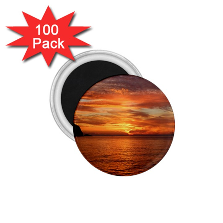 Sunset Sea Afterglow Boot 1.75  Magnets (100 pack)