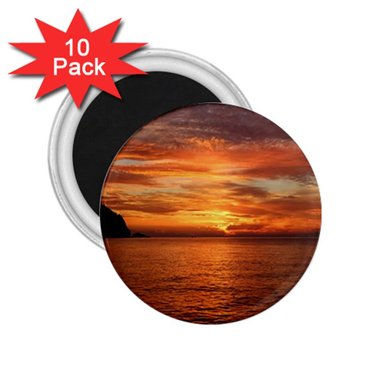 Sunset Sea Afterglow Boot 2.25  Magnets (10 pack)