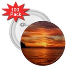 Sunset Sea Afterglow Boot 2.25  Buttons (100 pack)  Front