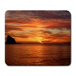 Sunset Sea Afterglow Boot Large Mousepads Front