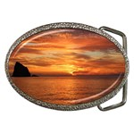 Sunset Sea Afterglow Boot Belt Buckles Front
