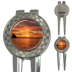 Sunset Sea Afterglow Boot 3-in-1 Golf Divots