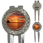 Sunset Sea Afterglow Boot 3-in-1 Golf Divots Front