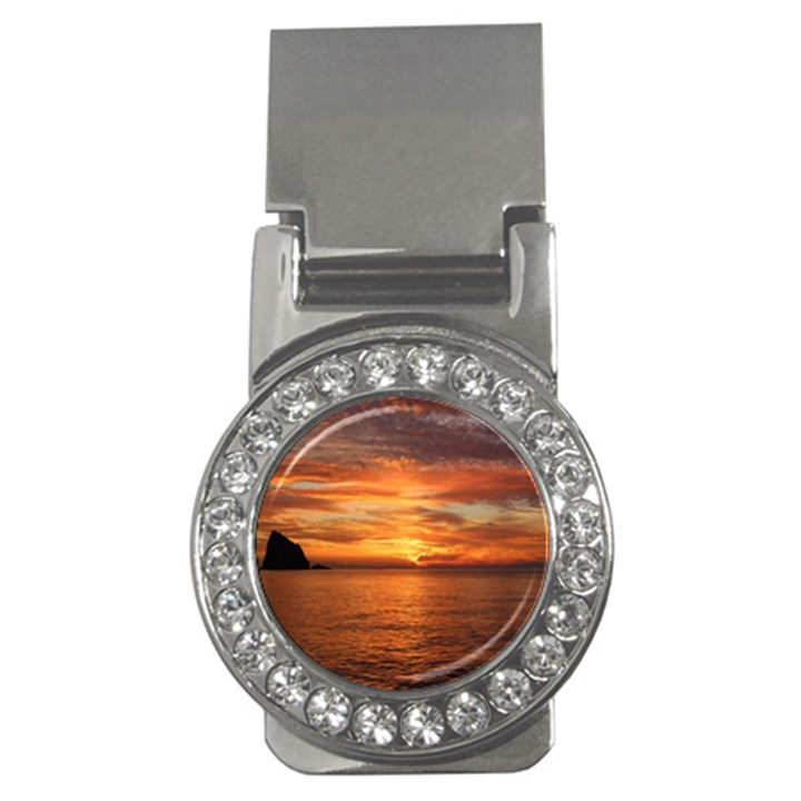 Sunset Sea Afterglow Boot Money Clips (CZ)