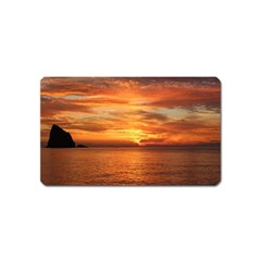 Sunset Sea Afterglow Boot Magnet (Name Card)