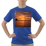 Sunset Sea Afterglow Boot Dark T-Shirt Front