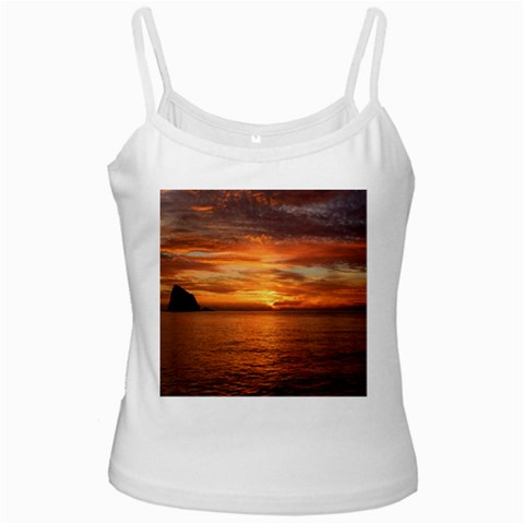 Sunset Sea Afterglow Boot Ladies Camisoles
