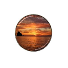 Sunset Sea Afterglow Boot Hat Clip Ball Marker