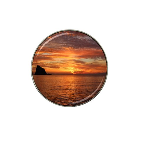 Sunset Sea Afterglow Boot Hat Clip Ball Marker (4 pack)