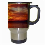 Sunset Sea Afterglow Boot Travel Mugs (White) Right
