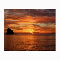 Sunset Sea Afterglow Boot Small Glasses Cloth