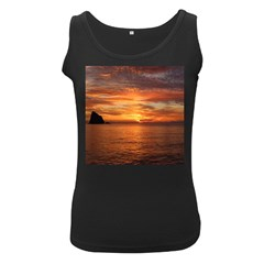 Sunset Sea Afterglow Boot Women s Black Tank Top