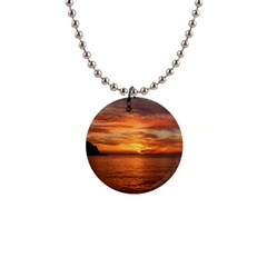 Sunset Sea Afterglow Boot Button Necklaces