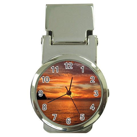 Sunset Sea Afterglow Boot Money Clip Watches