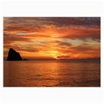 Sunset Sea Afterglow Boot Collage Prints 18 x12 Print - 1