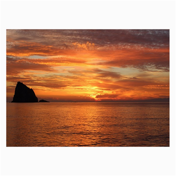 Sunset Sea Afterglow Boot Collage Prints