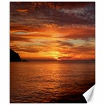 Sunset Sea Afterglow Boot Canvas 8  x 10  10.02 x8 Canvas - 1
