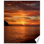 Sunset Sea Afterglow Boot Canvas 20  x 24   24 x20 Canvas - 1