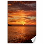 Sunset Sea Afterglow Boot Canvas 20  x 30   30 x20 Canvas - 1