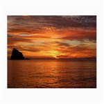 Sunset Sea Afterglow Boot Small Glasses Cloth (2-Side) Back