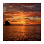 Sunset Sea Afterglow Boot Medium Glasses Cloth (2-Side) Front