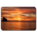 Sunset Sea Afterglow Boot Large Doormat  30 x20 Door Mat - 1