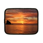 Sunset Sea Afterglow Boot Netbook Case (Small)  Front