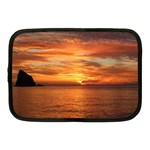 Sunset Sea Afterglow Boot Netbook Case (Medium)  Front
