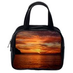 Sunset Sea Afterglow Boot Classic Handbags (One Side) Front