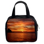 Sunset Sea Afterglow Boot Classic Handbags (2 Sides) Front