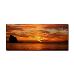 Sunset Sea Afterglow Boot Hand Towel