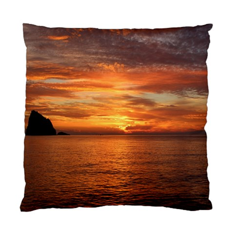Sunset Sea Afterglow Boot Standard Cushion Case (Two Sides)