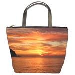 Sunset Sea Afterglow Boot Bucket Bags Front