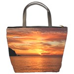 Sunset Sea Afterglow Boot Bucket Bags Back