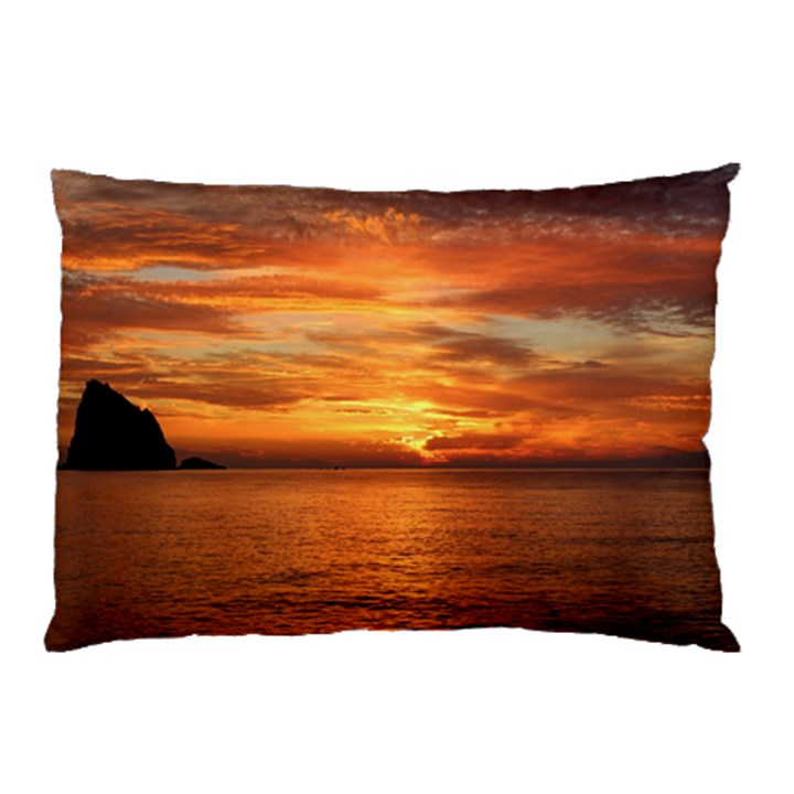 Sunset Sea Afterglow Boot Pillow Case