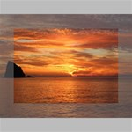 Sunset Sea Afterglow Boot Mini Canvas 7  x 5  7  x 5  x 0.875  Stretched Canvas