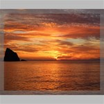 Sunset Sea Afterglow Boot Canvas 20  x 16  20  x 16  x 0.875  Stretched Canvas