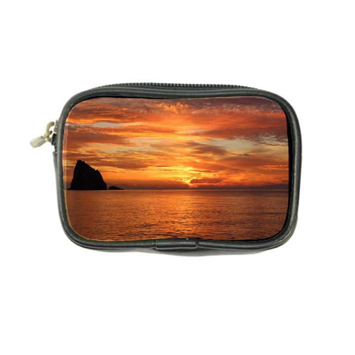 Sunset Sea Afterglow Boot Coin Purse