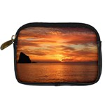 Sunset Sea Afterglow Boot Digital Camera Cases Front