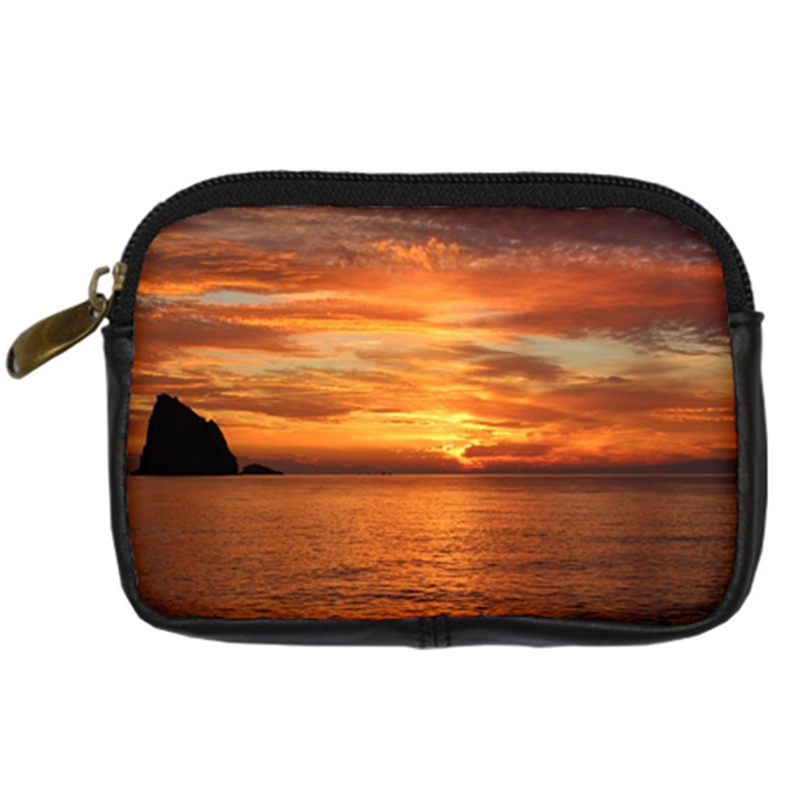 Sunset Sea Afterglow Boot Digital Camera Cases